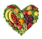Heart Fruit n Veggies